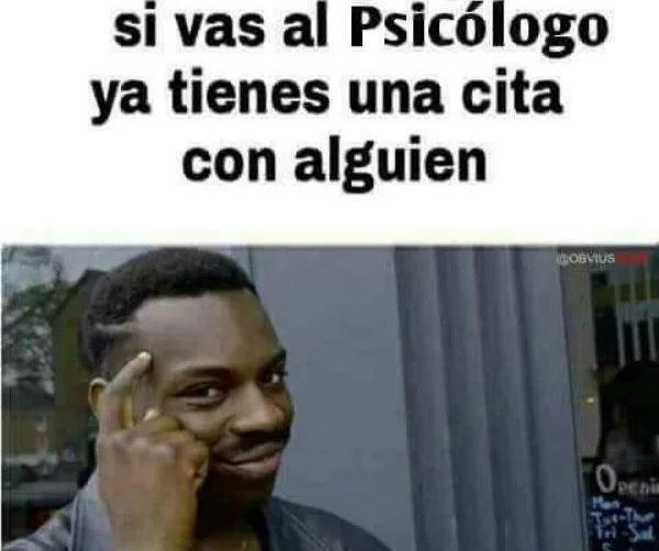 Memes del día del psicólogo