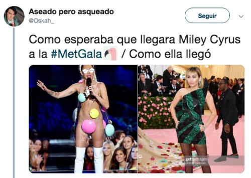 Memes del Met Gala 2019