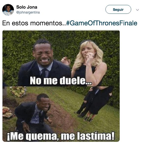Memes del último capítulo de Game of Thrones