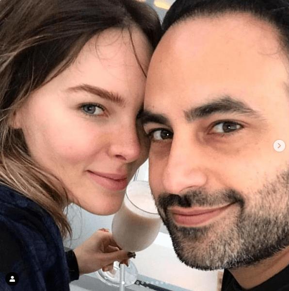 Belinda presenta su novio, Ben Talei, cirujano plástico