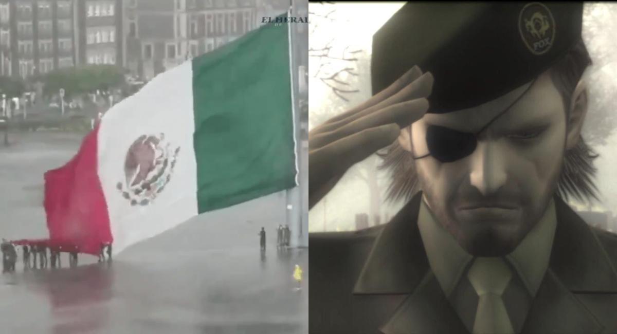 Ciudadanos Y Militares Bajan Bandera De México En Zócalo Erizos