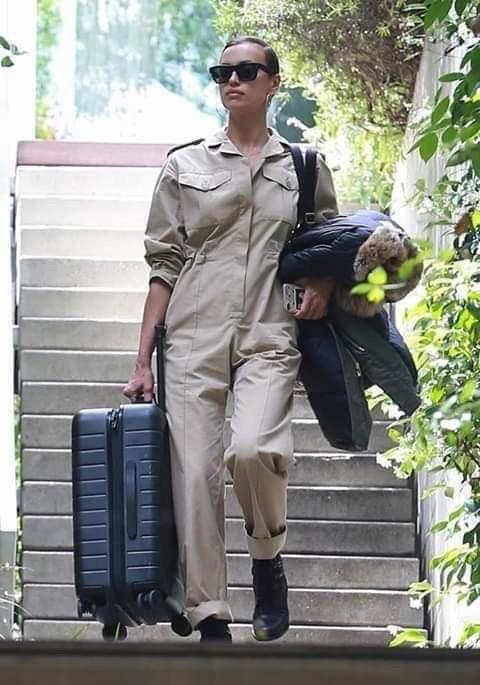 Difunden fotos de Lady Gaga saliendo de casa de Bradley Cooper