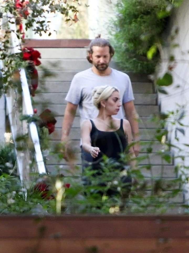 Difunden fotos de Lady Gaga saliendo de casa de Bradley Cooper tras separación