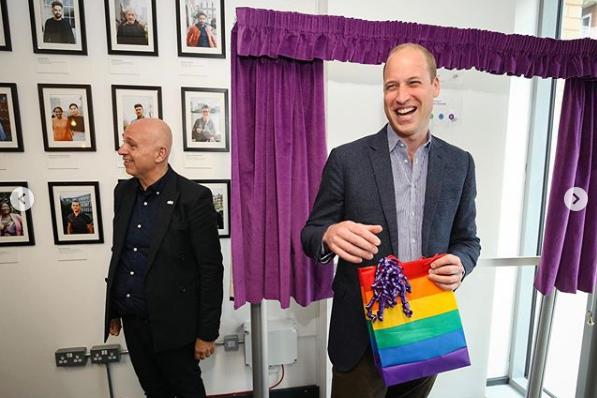 Príncipe William responde qué haría si su hijo fuera gay