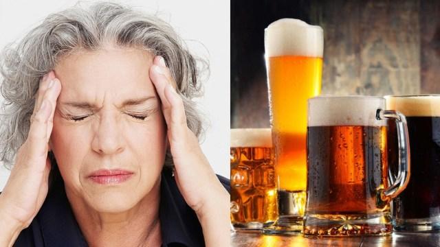 Cerveza mejor que paracetamol para dolor de cabeza: médicos
