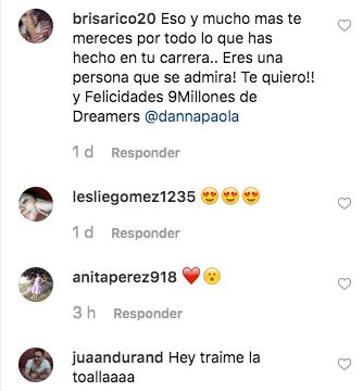Danna Paola celebra 9 millones de seguidores en Instagram