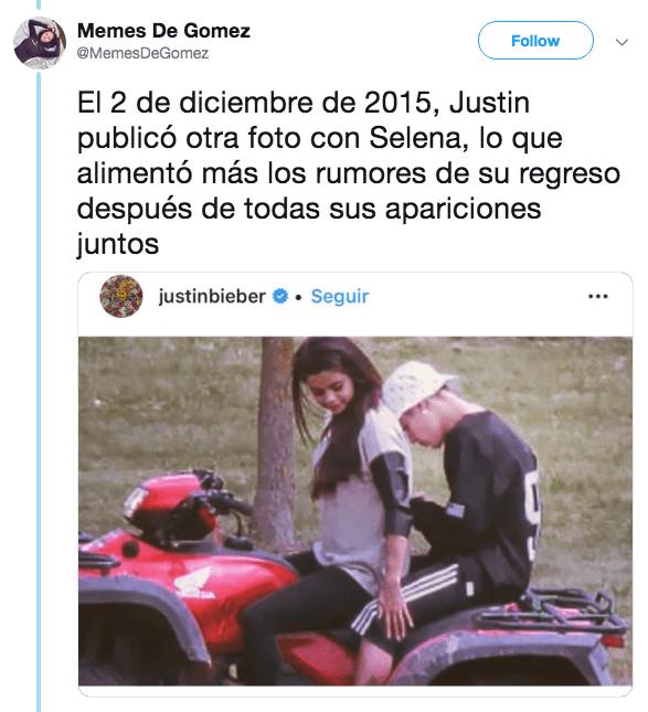 Revelan infidelidades de Justin Bieber a Selena Gomez
