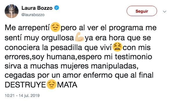 Laura Bozzo revela que intentó cortarle miembro a su ex pareja por infidelidad