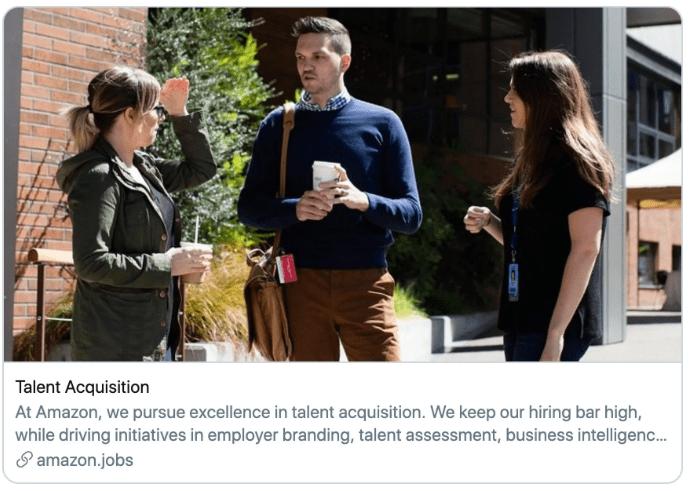 No lo contratan, pero usan su foto para promover página de empleos