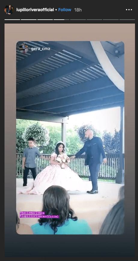 Hija de Lupillo Rivera festeja sus XV años