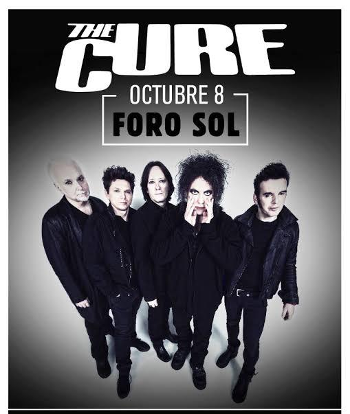 The Cure anuncia concierto en el Foro Sol el 8 de octubre de 2019