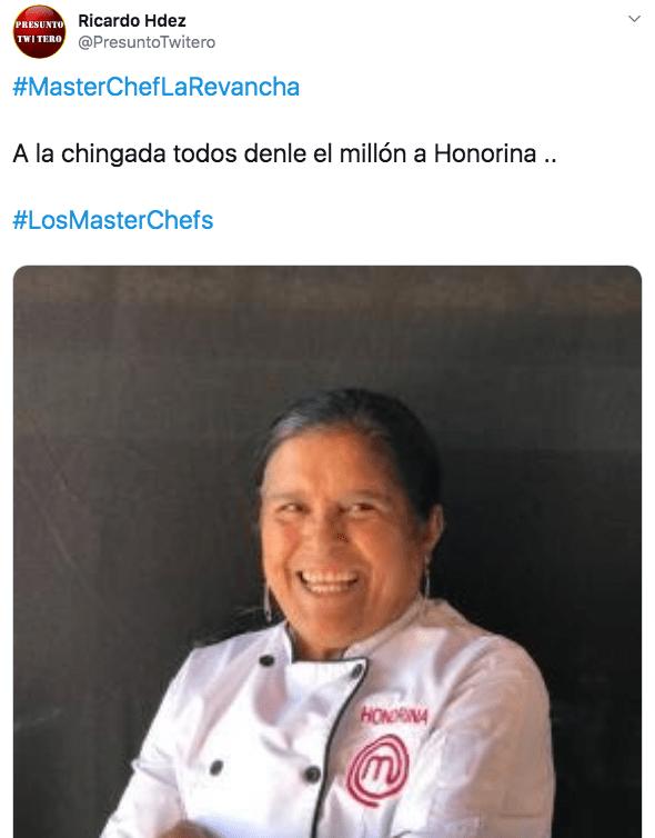 Memes del capítulo 6 de Master Chef La Revancha