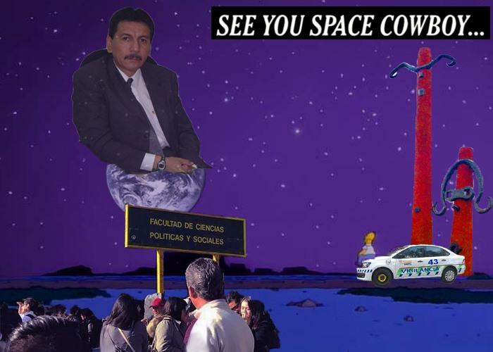 Pedro Mundo se retira de la UNAM