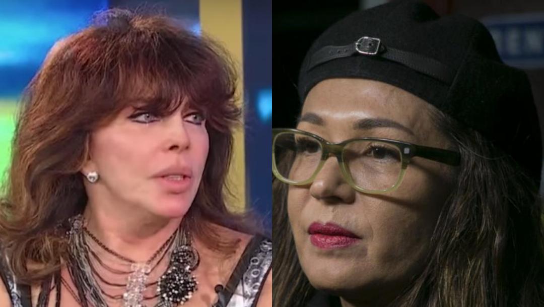Difunden foto atrevida de Yolanda Andrade y Verónica Castro