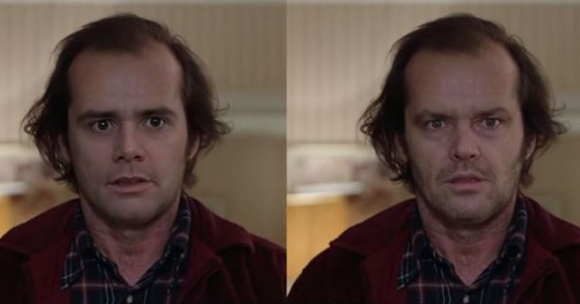 Video de Jim Carey imitando a Jack Nicholson es un DeepFake