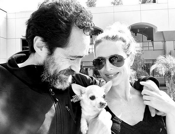 Demián Bichir dedica mensaje a Stefani Sherk en Instagram