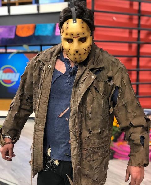 Elenco del programa Hoy se disfraza para Halloween