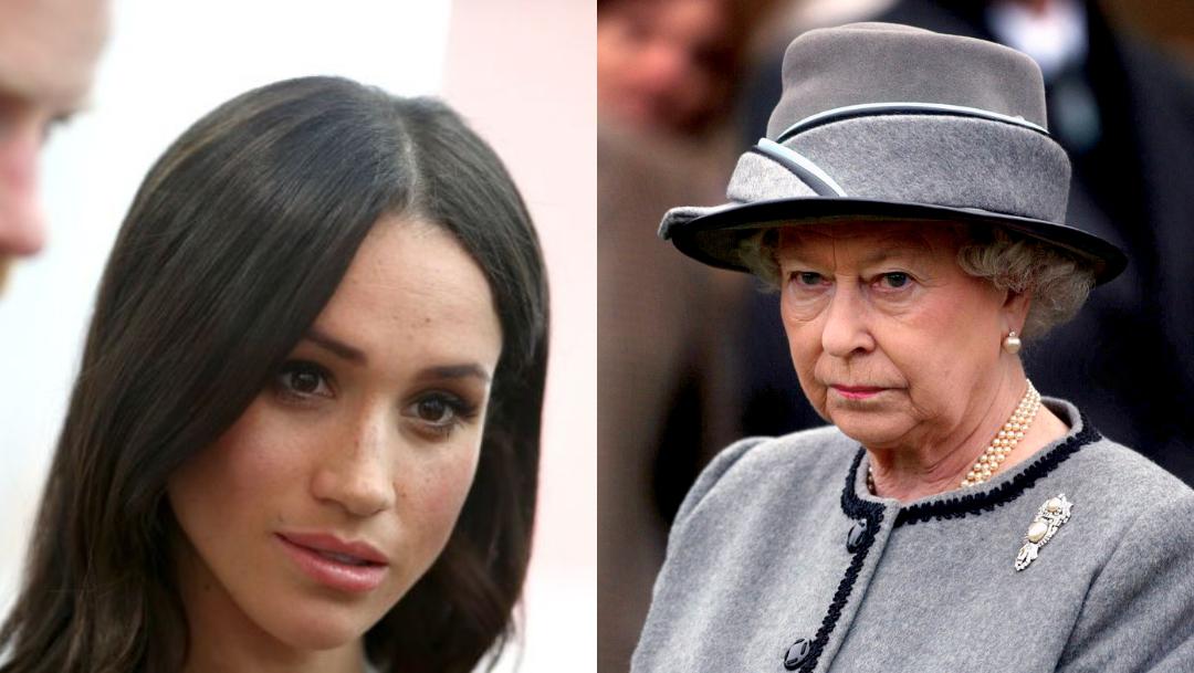Reina Isabel II, Meghan Markle, Príncipe Harry, Retrato, Palacio De Buckingham, Duques De Sussex