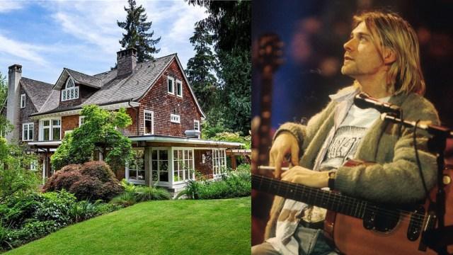 Ponen en venta la casa donde se suicidó Kurt Cobain en 1994