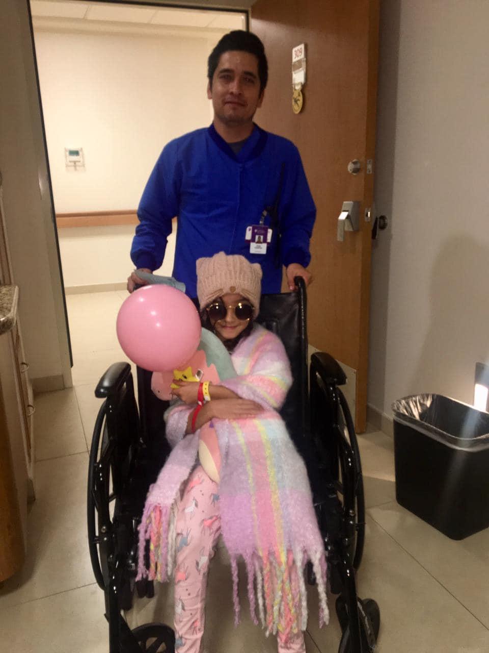 Marian Lorette de La Voz Kids sale de hospital tras accidente