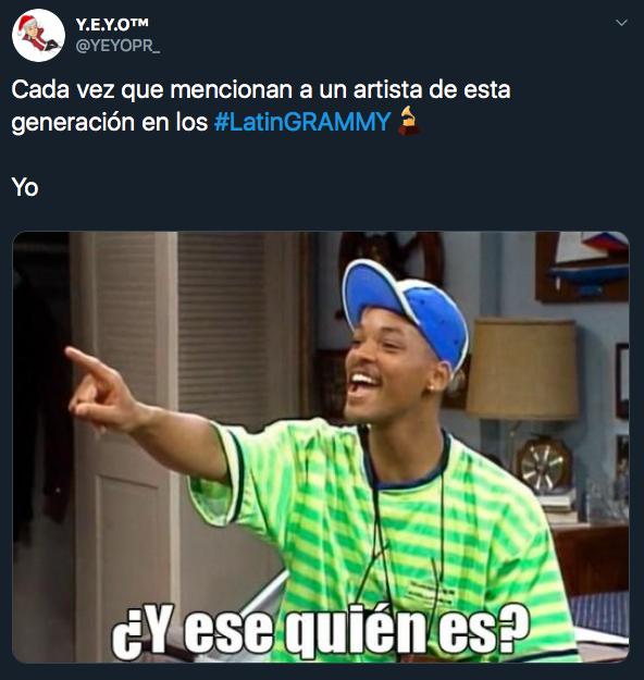 Mejores memes de los Latin Grammy 2019 en Las Vegas