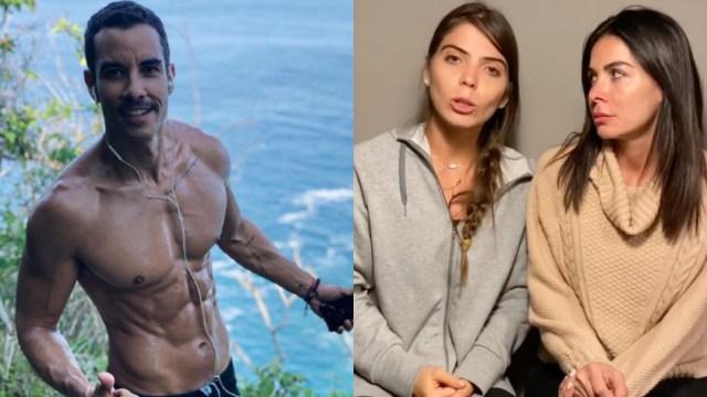 Alejandro Sandi actor Señor Anillos Secuestrado Nevado Toluca junto a Esmeralda Ugalde y Vanessa Arias