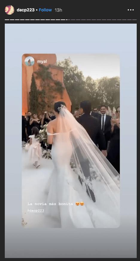 Así fue la boda de la hija de Ana Gabriel