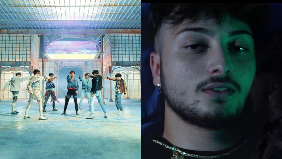 Seiell, BTS, Fake Love, Cantante Italiano Plagia Fake Love, Fake Love Plagiarism, Fake Love Plagio