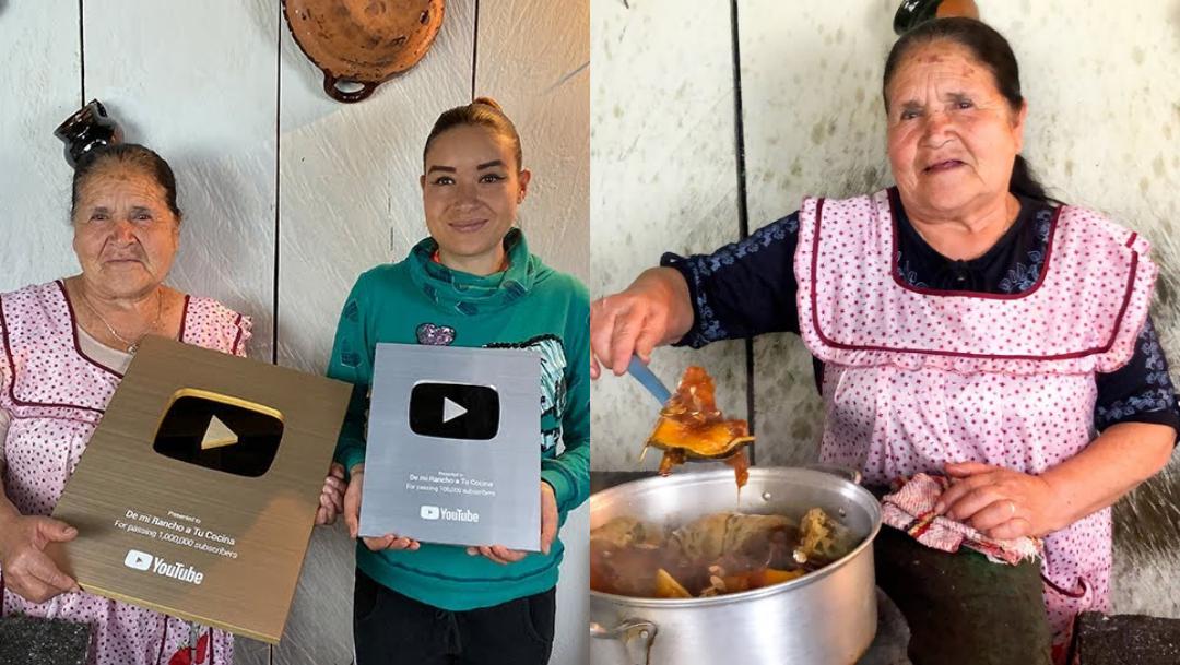 Dona Angela De Mi Rancho A Tu Concina Gana Placas Youtube Erizos