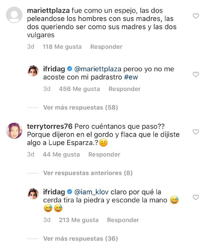 Chiquis Rivera y Frida Sofía se pelean duramente