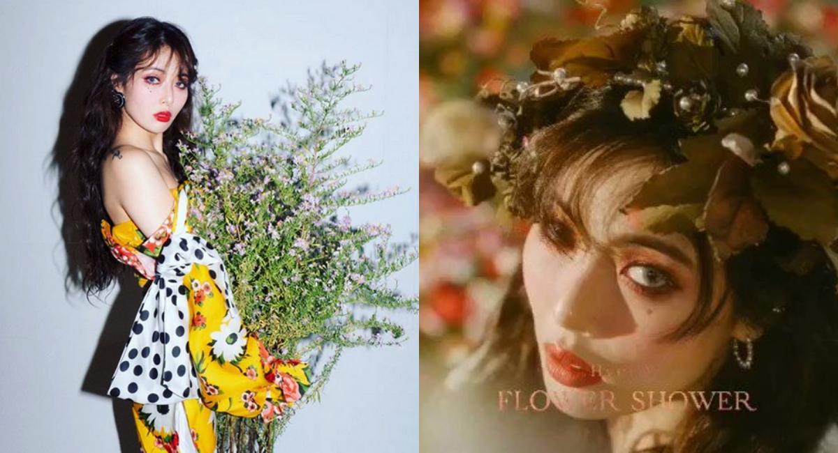 HyunA Comeback, HyunA Dawn, HyunA Wonder Girls, HyunA FLOWER SHOWER, HyunA Comeback 2019, HyunA Nueva Canción