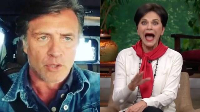 Juan Soler exige disculpa de Pati Chapoy por hablar de su familia