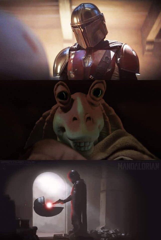 Memes de Baby Yoda de The Mandalorian