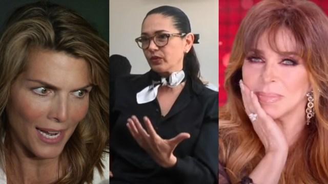 Yolanda Andrade fue infiel a Montserrat Oliver con Verónica Castro