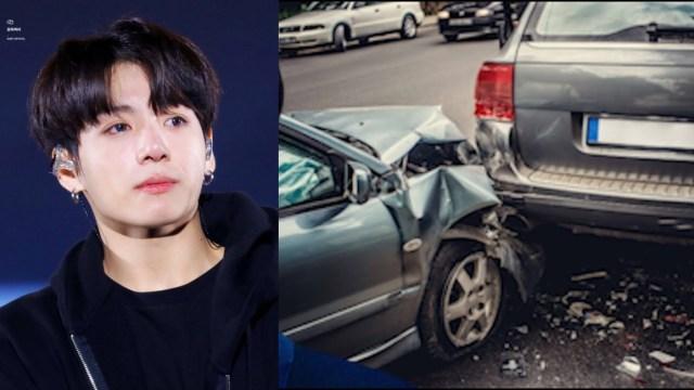 Jungkook de BTS sentenciado por antiguo accidente de auto