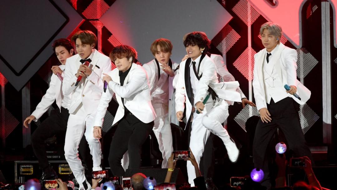 BTS ensaya en Times Square Nueva York para recibir el 2020