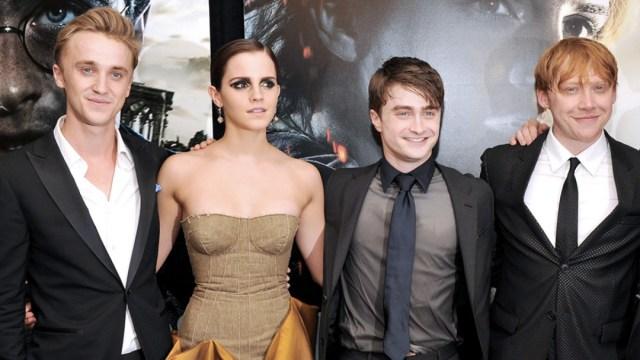 Emma Watson se reúne con elenco de Harry Potter para navidad