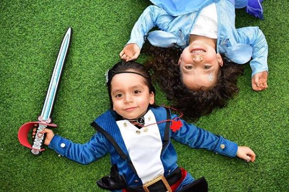 Hijos de Jorge Salinas y Elizabeth Álvarez