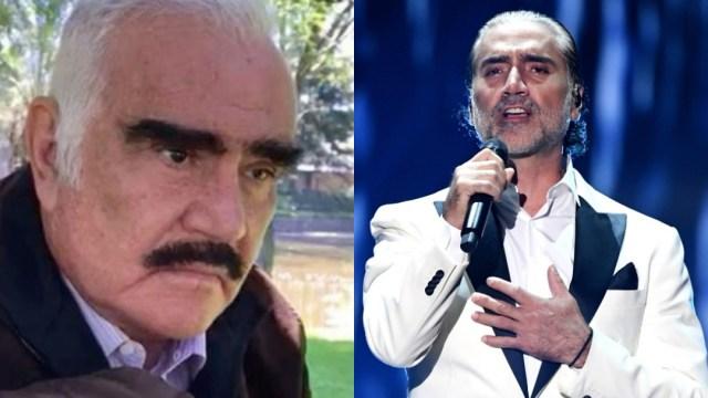 Aseguran que Vicente Fernández desheredó a su hijo Alejandro