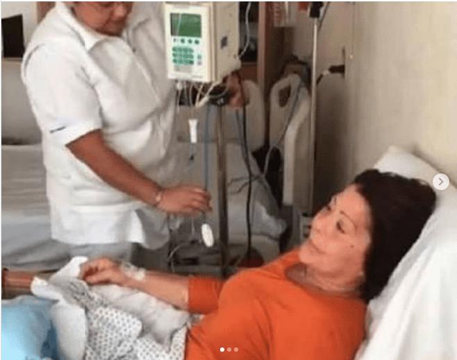 Alejandra guzman en el hospital