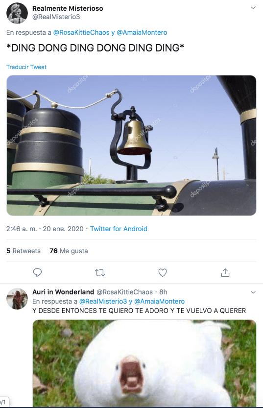 """Amaia Montero recuerda el """"20 de enero"""""""