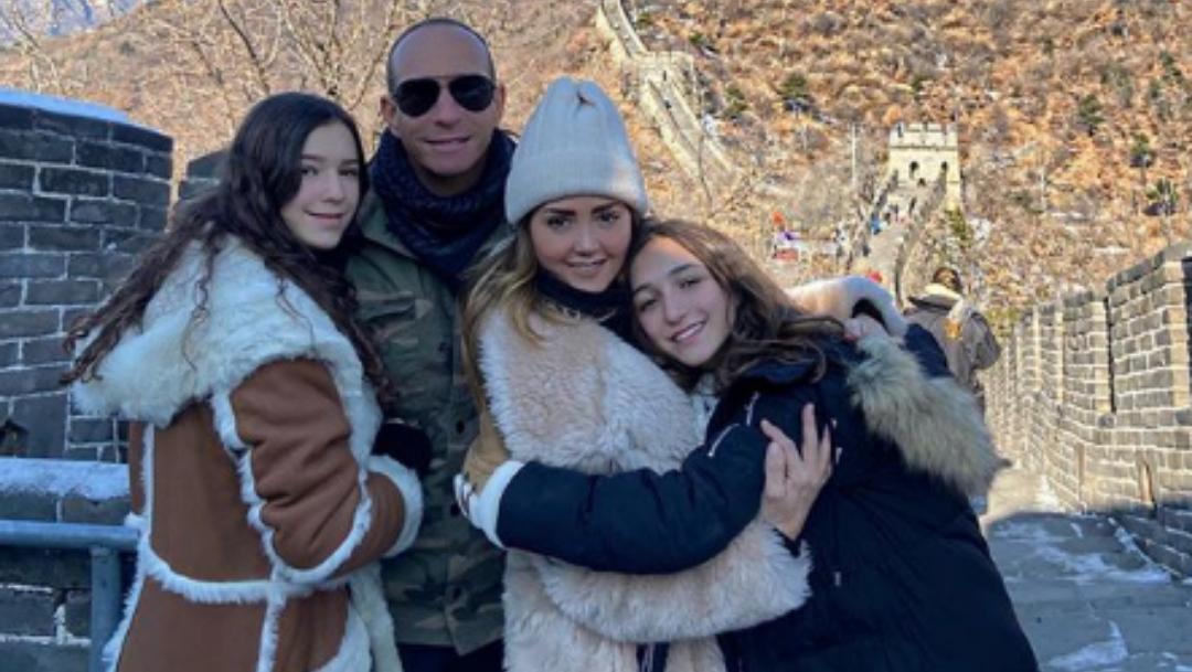Andrea Legarreta festeja cumpleaños de su hija Nina en China