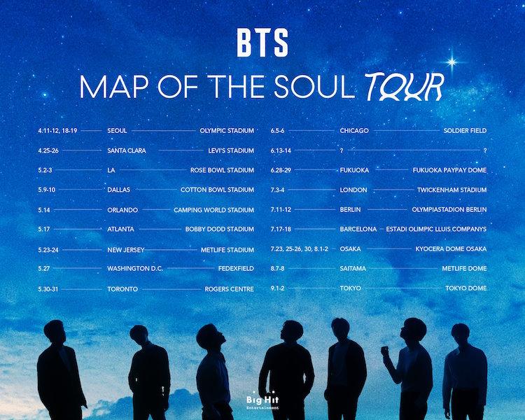 BTS anuncia su gira ¿vendrán a México?