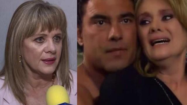 Erika Buenfil reacciona a memes de Arriaga y Victoria