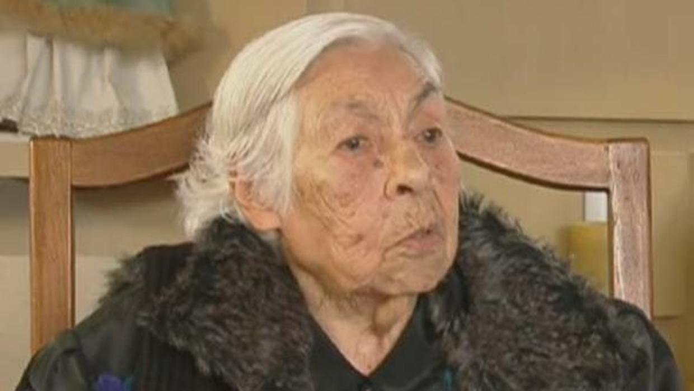 Eva Mange cumple 102 años