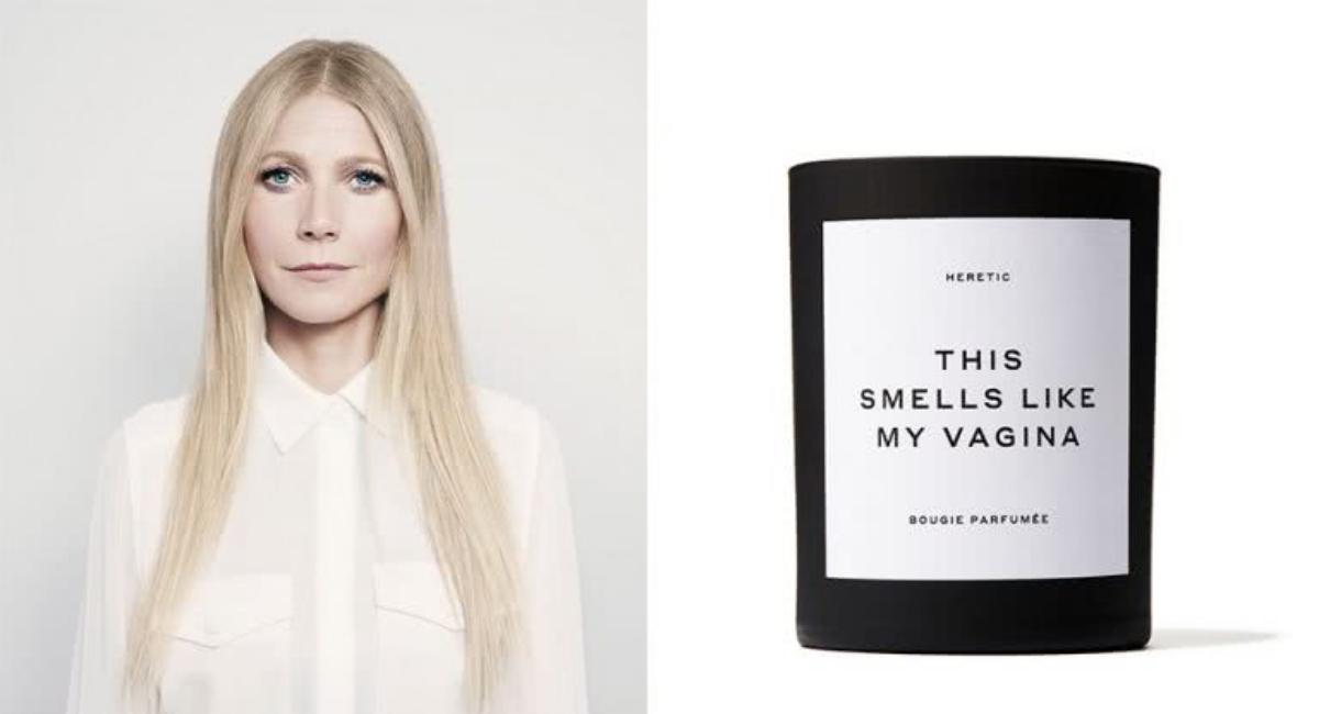 Gwyneth Paltrow vende velas de aroma a vagina y son un éxito