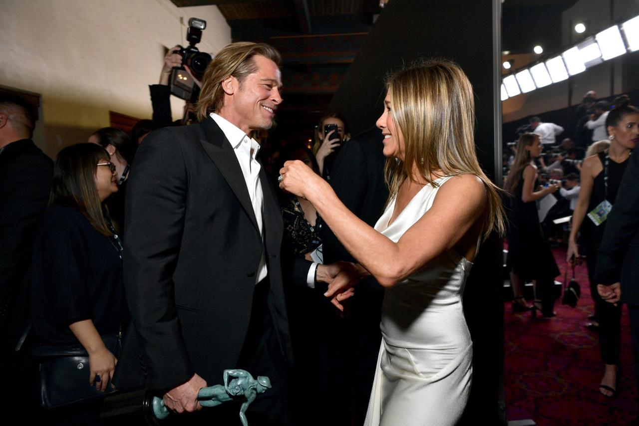 Jennifer Aniston Brad Pitt reencuentro SAG Awards 2020
