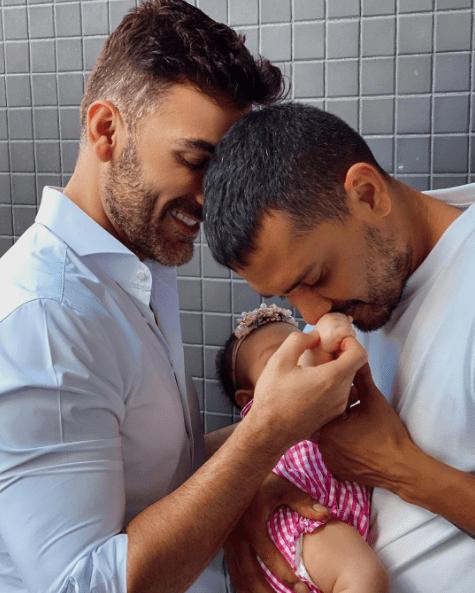 Mauricio Mejía se compromete con su novio Enrique Guzmán