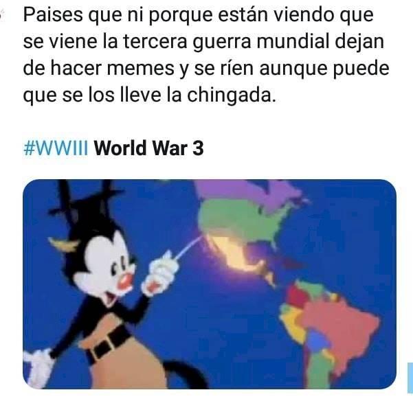 Memes tercera guerra mundial