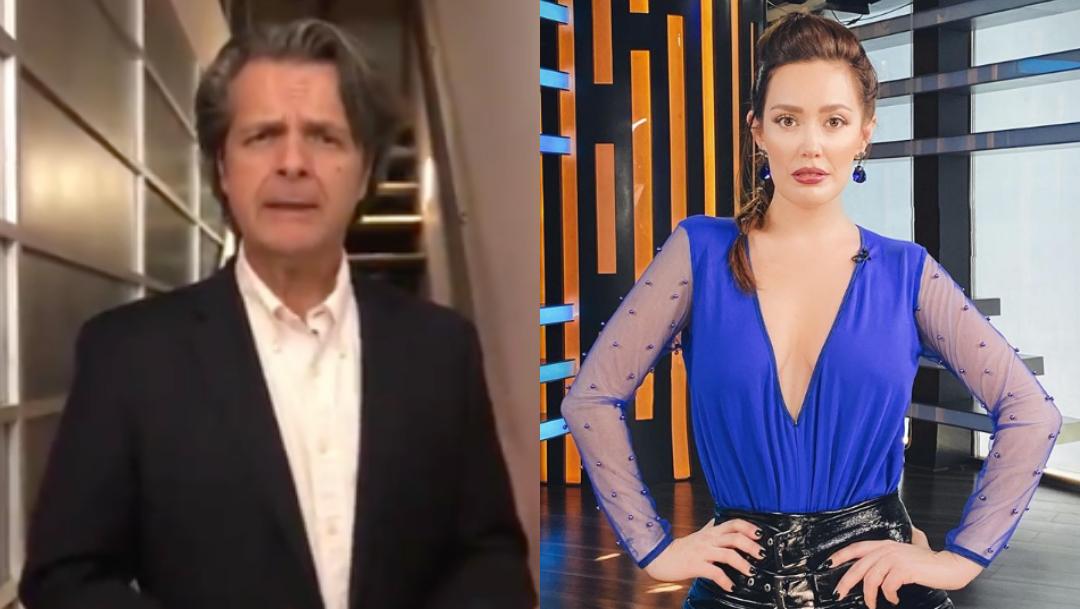 Carla Medina acusa al actor Ariel López Padilla de agresión